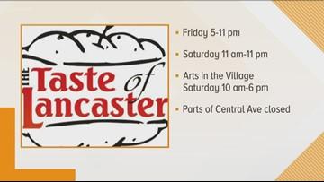 Taste of Lancaster kicks off two-day run full of flavor
