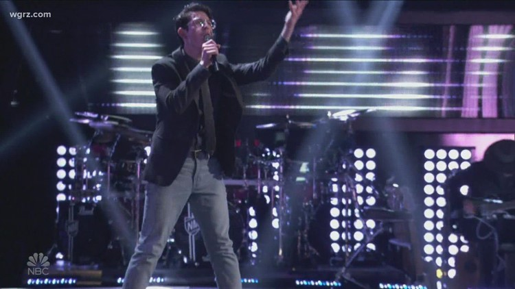 WNY native made it on 'The Voice,' now part of Team Legend