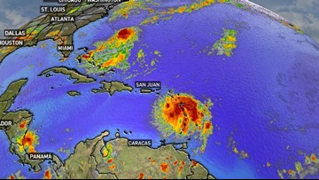 The Atlantic hurricane season is heating up right on schedule