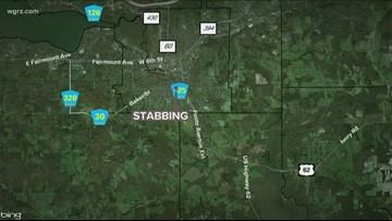 Jamestown Police investigate Newland Avenue stabbing