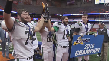 CSP football wins back-to-back Class D state titles