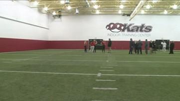ECC South opens 'Kats Indoor Training Center'