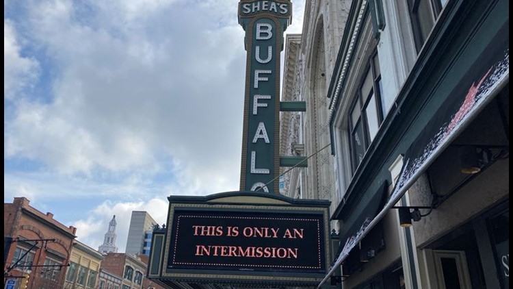 Shea's Performing Arts Center announces plans to open for rescheduled performances at 100% capacity in September