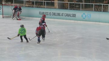 Backyard classic hockey is back at canalside