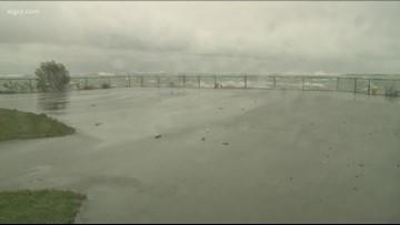 Rain & Winds cause damage around WNY