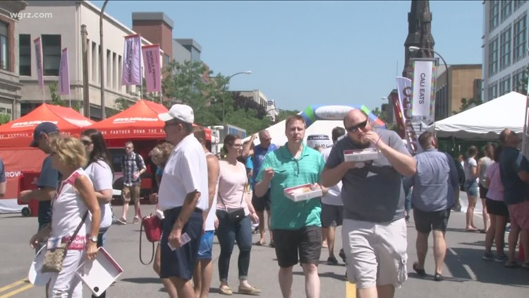 Taste of Buffalo gets approval from health officials for in-person festival