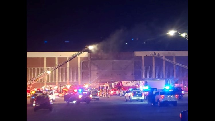 Fire at Eastern Hills Mall