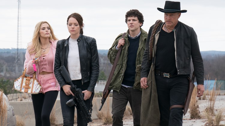 2 The Movies Review Zombieland Double Tap Is Double The Fun Wgrz Com