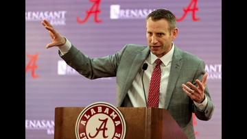 Nate Oats introduced as Alabama's new head coach