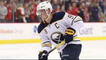 Jack Eichel will miss next two games with upper-body injury