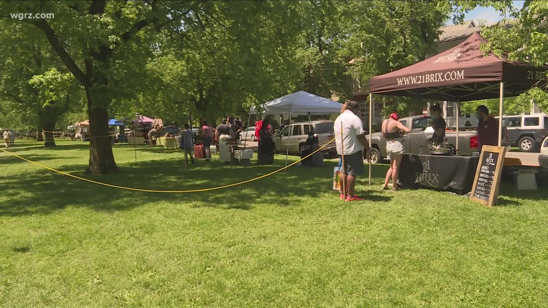 Elmwood Village Farmers Market Returns On Saturday Wgrz Com