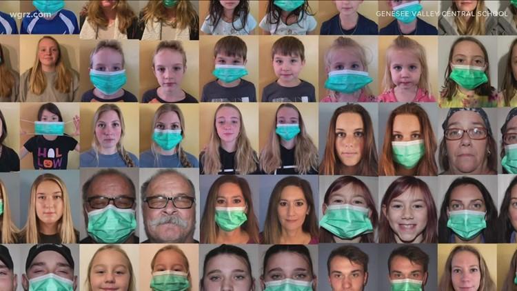 Virtual art class documents the pandemic