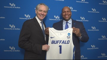 UB introduces Jim Whitesell as next head coach