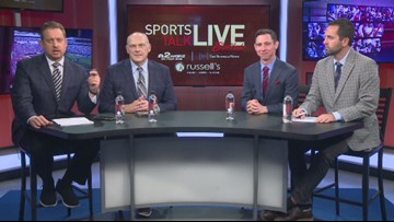 The Bills are 4-1 at the bye and the Sabres are off to a strong start. Both are hot topics on Sports Talk Live
