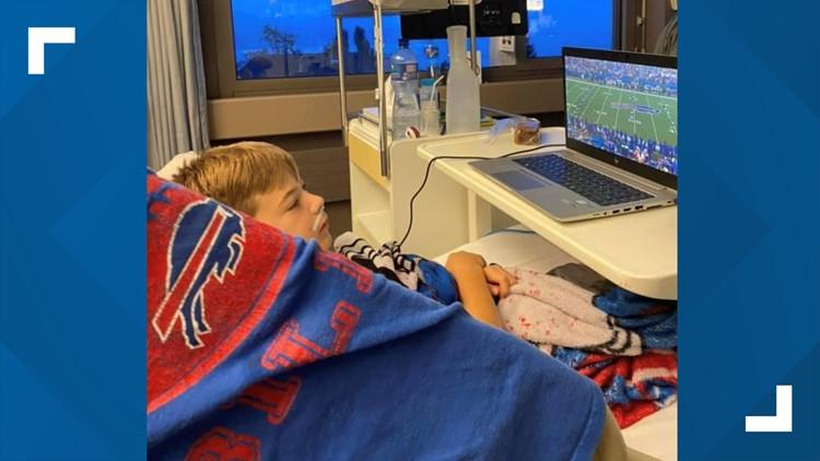 Bills Mafia supporting 12-year-old fan in Switzerland