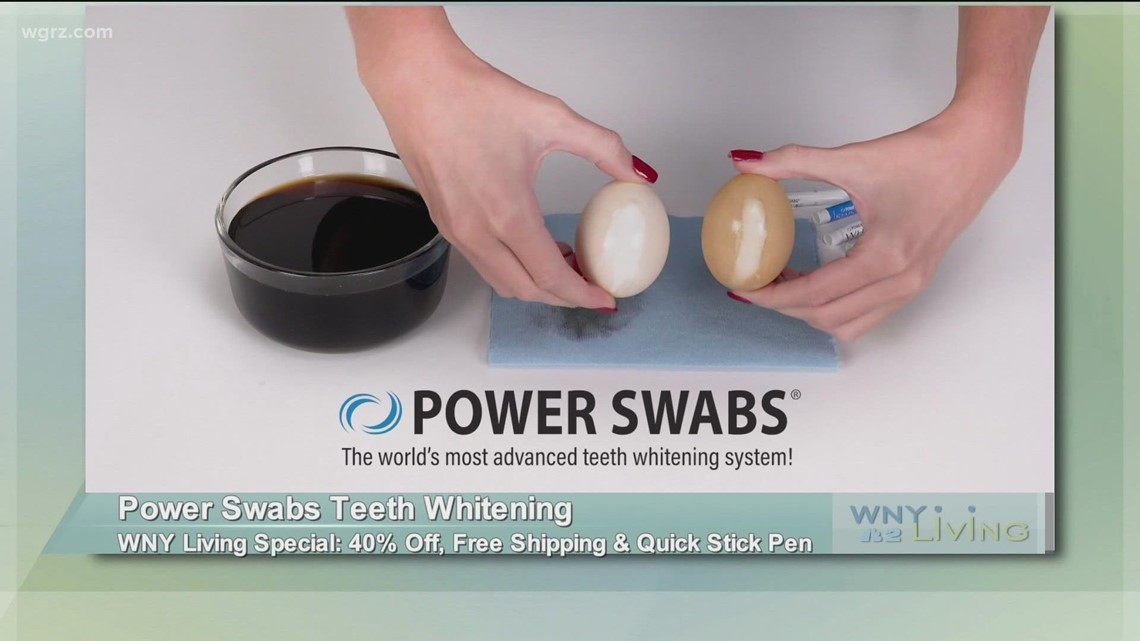 September 18 - Power Swabs Teeth Whitening