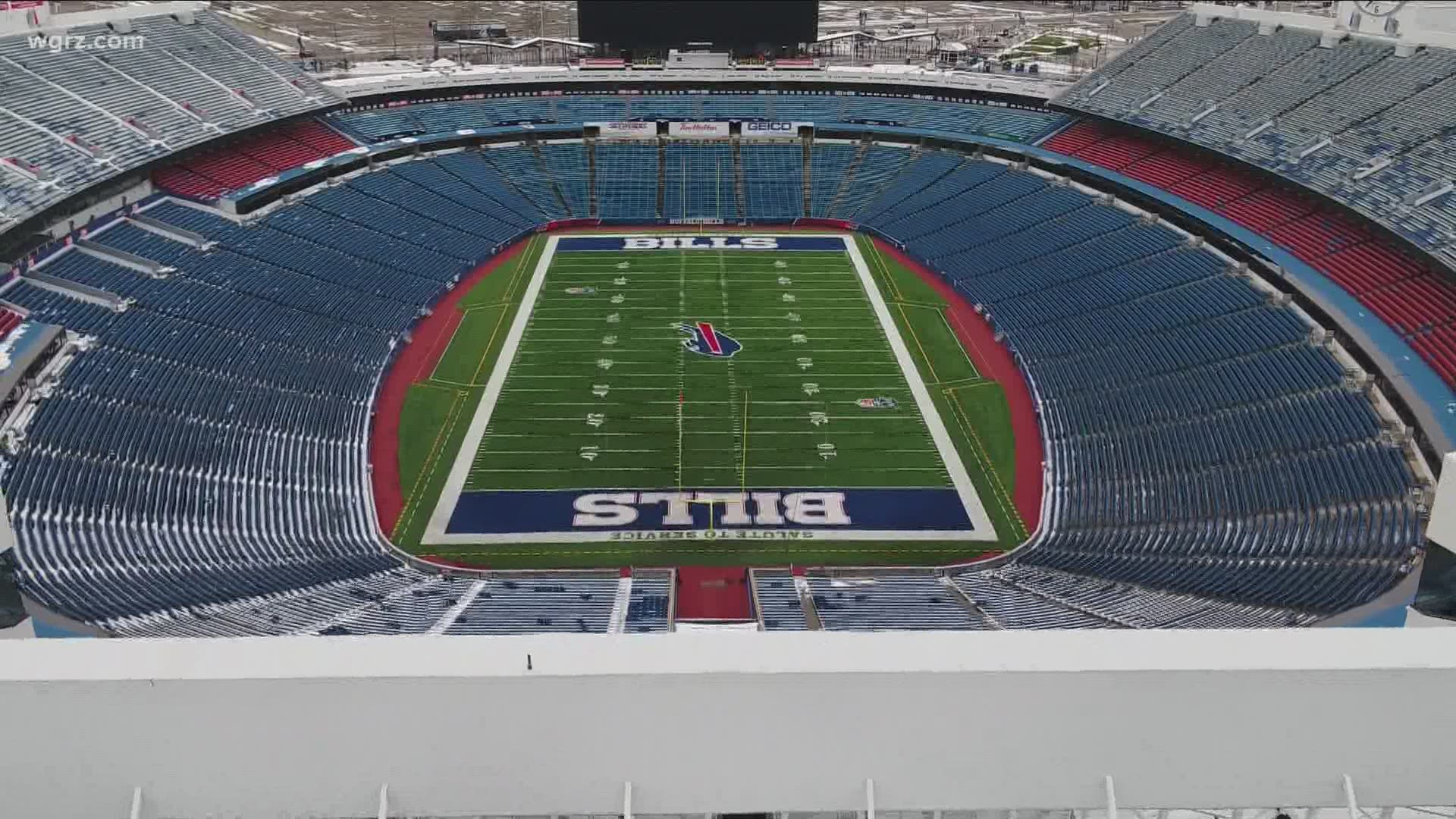 Cuomo Allowing Fans At Bills Stadium For Playoffs Is A Work In Progress Wgrz Com