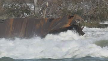 Will the historic iron scow crash over Niagara Falls?