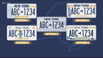 Bill would waive fee for New License Plates