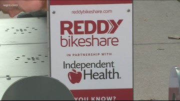 Reddy Bikeshare Expands To Niagara Falls