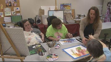Program helps people express themselves in new ways through art