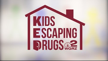 WNY donates during Kids Escaping Drugs televent