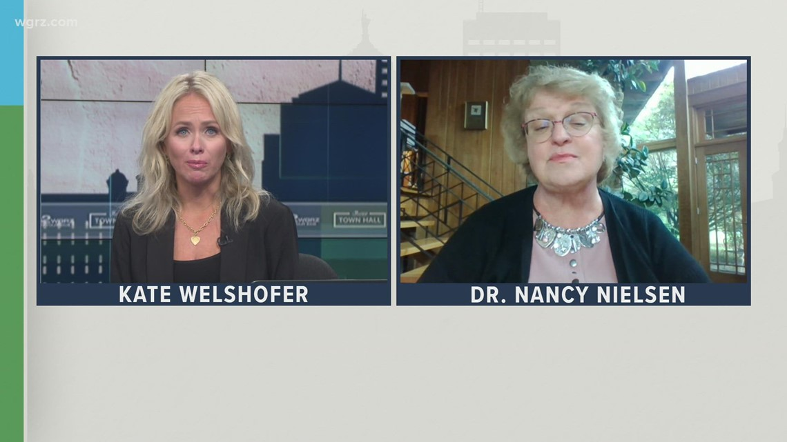 Friday Town Hall: Dr. Nancy Nielsen discusses COVID booster shots