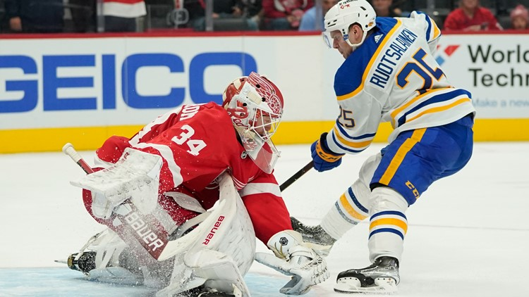 Second period dooms Sabres vs. Red Wings