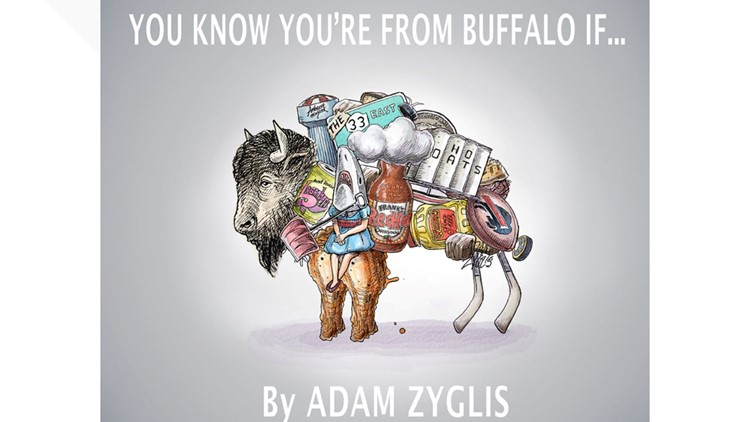Pulitzer Prize Winning Cartoonist Adam Zyglis looking for ideas for new book about Buffalo