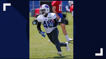 Singletary refuses to allow size be an issue as he pursues his NFL dream with the Bills