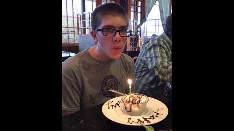 Logan turned 16 last month