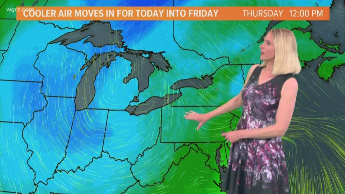 Storm Team 2 Jennifer Stanonis Has Your Midday Forecast