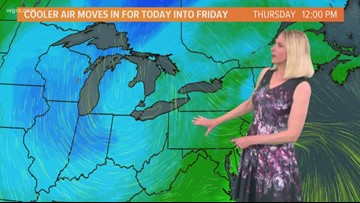 Storm Team 2 Jennifer Stanonis Has Your Midday Forecast For June 13, 2019