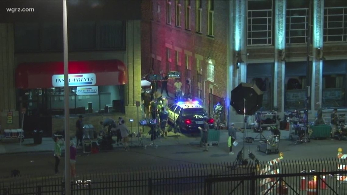 movie being filmed in downtown buffalo