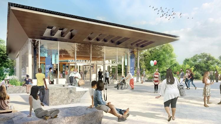Construction at Niagara Falls State Park begins on $46M visitor center