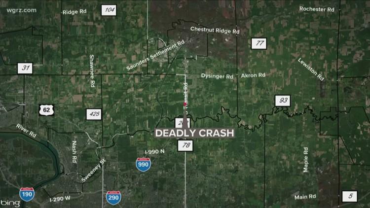 One person dies following crash into culvert in Niagara County