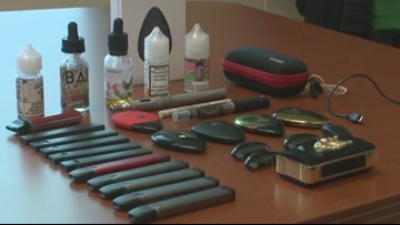 "State and federal efforts to curb ""vaping epidemic"" among kids and teens"