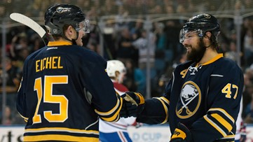 Eichel reflects on his friendship with Bogosian, who cleared waivers