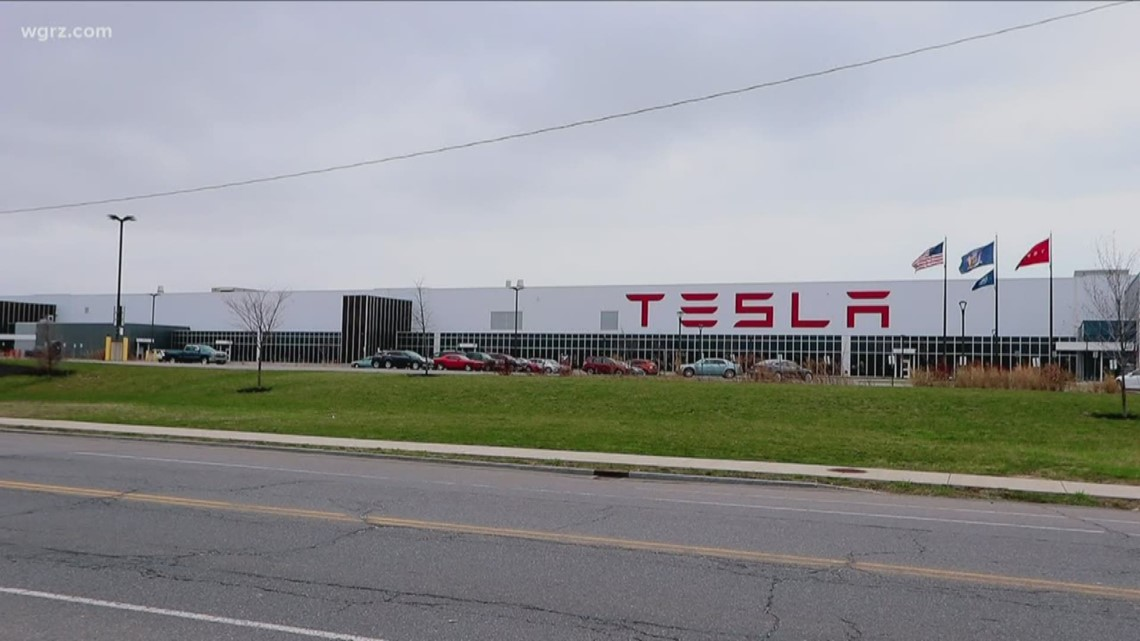 Are they making ventilators inside the Tesla facility in Buffalo?