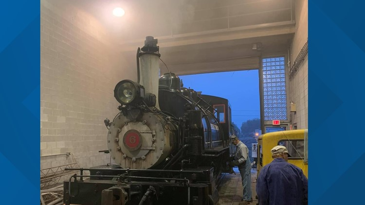 Steam train rides in Hamburg this weekend