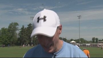 This is year number 32 for Jim Kelly's annual football camp.