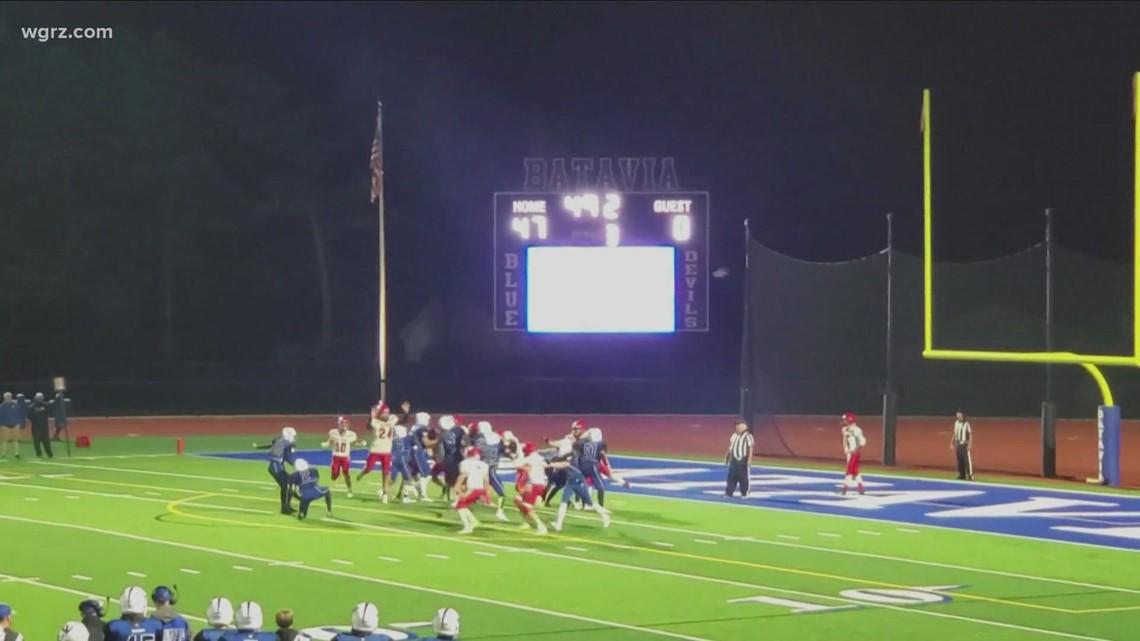 Most Buffalo: 'Batavia HS football female kicker'
