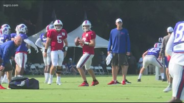 Bills Practicing With The Panthers In SC