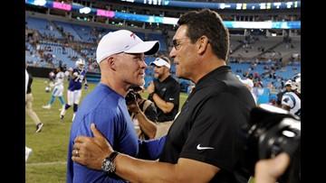 Bills dominate in win against Carolina