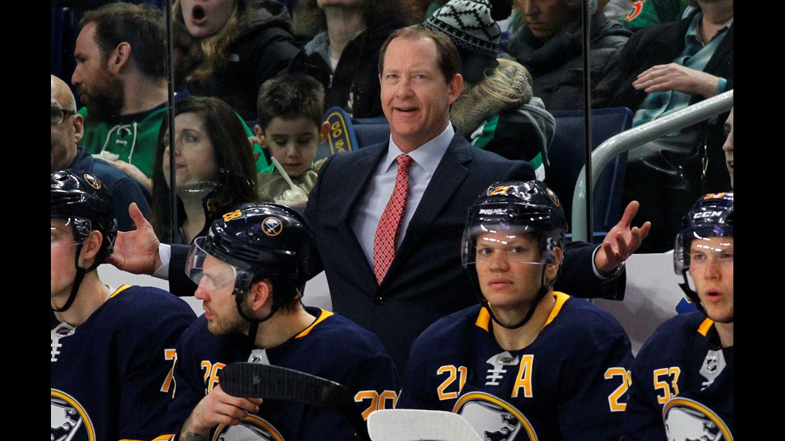 Buffalo Sabres fire Phil Housley after 2 seasons as head coach