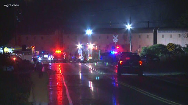 Police: Vehicle hit by train in Town of Evans