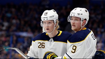 Sabres slip 2 spots in NHL draft lottery, will pick 7th