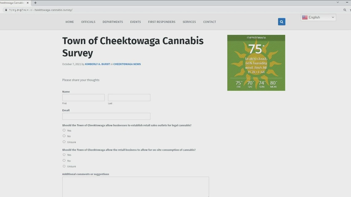 Cheektowaga Cannabis Survey