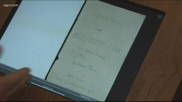 Buffalo library digitizes Mark Twain's original Huckleberry Finn manuscript