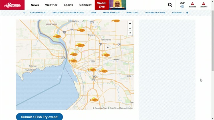Fish Fry Season: Check out WGRZ's interactive map